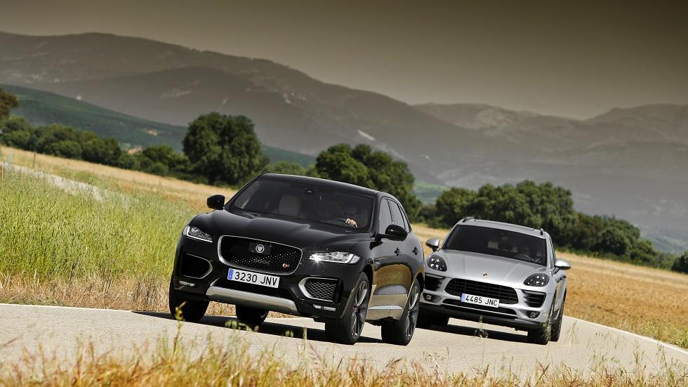 Jaguar F-Pace TDV6 AWD vs Porsche Macan S Diesel, ¿cuál es mejor?