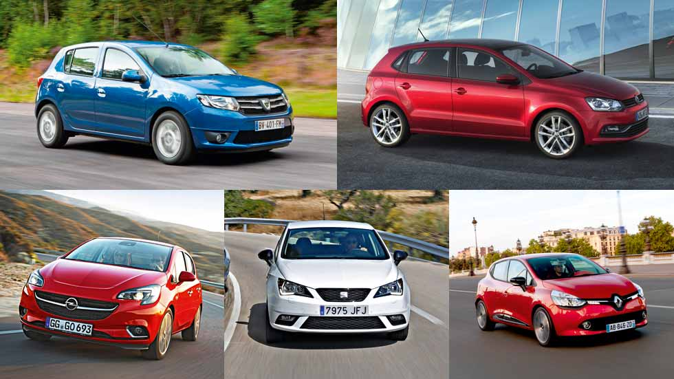 La fiabilidad de los coches utilitarios más vendidos, a examen