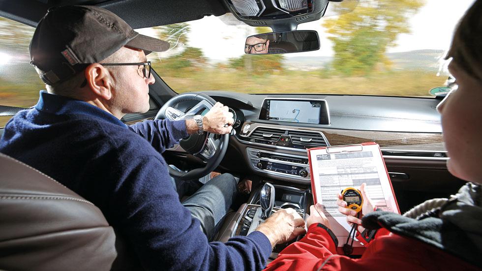 Los sistemas de información y entretenimiento de 7 coches, a prueba