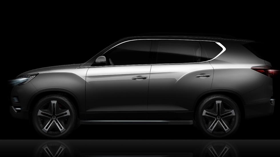 SsangYong LIV-2 Concept: ¿el futuro Rexton en París?