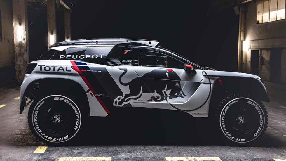 Peugeot 3008 DKR: la nueva arma para el Dakar 2017 (vídeo y fotos)