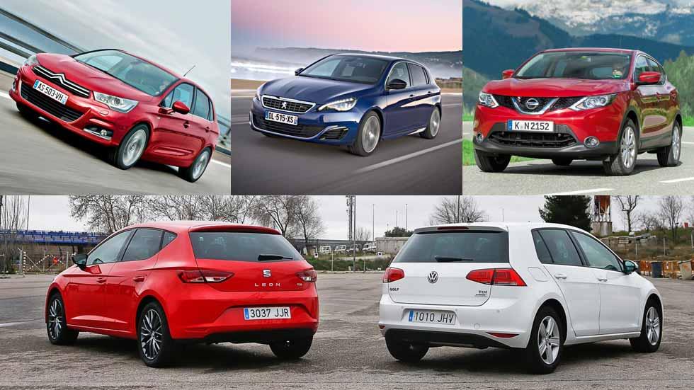 ¿Cuáles son las averías de los coches y SUV compactos más vendidos?