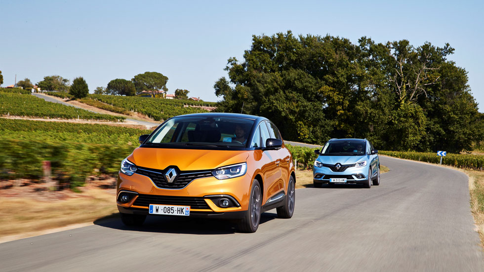 Renault Scénic y Grand Scénic 2017: probamos la nueva generación