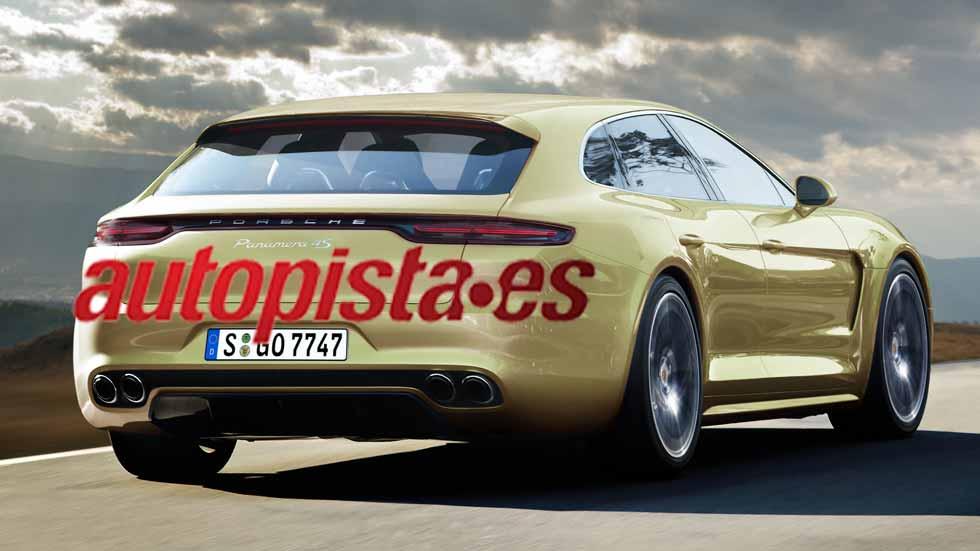Porsche Panamera Sport Turismo 2017, el primer familiar de Porsche
