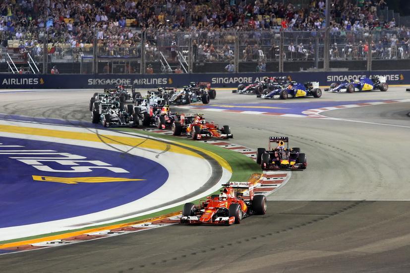 Gran Premio de Singapur de F1: horarios de entrenamientos y carrera