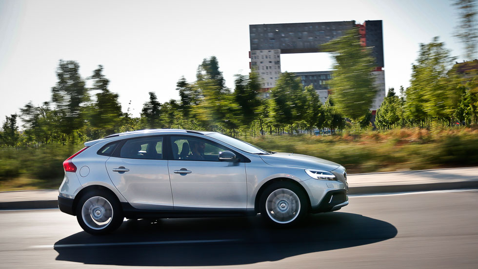 Volvo V40 Cross Country D2: consumo real e impresiones