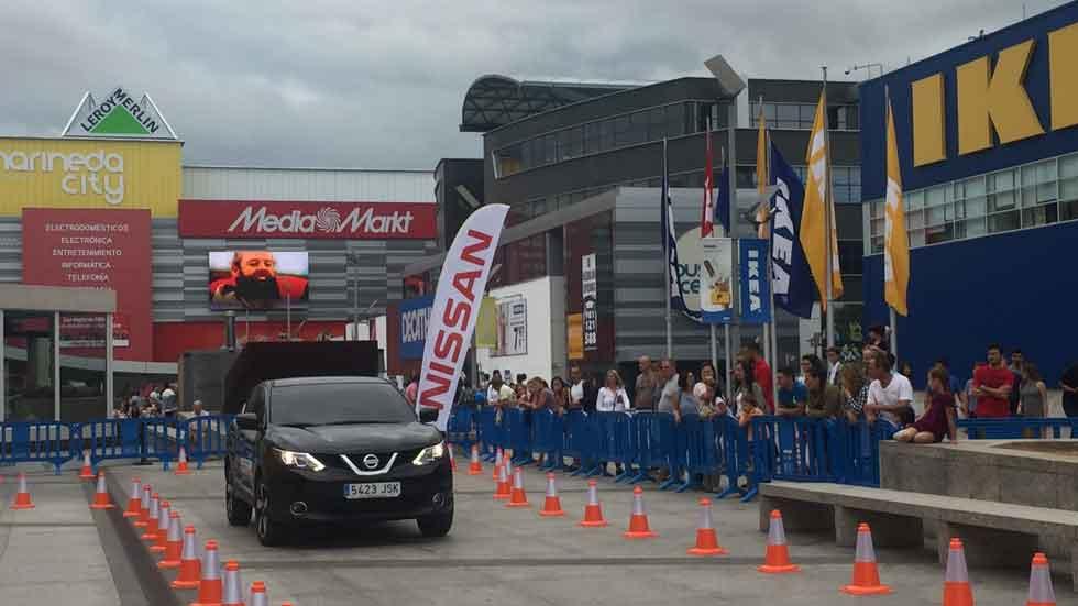 El Nissan Qashqai, en carreras de marcha atrás