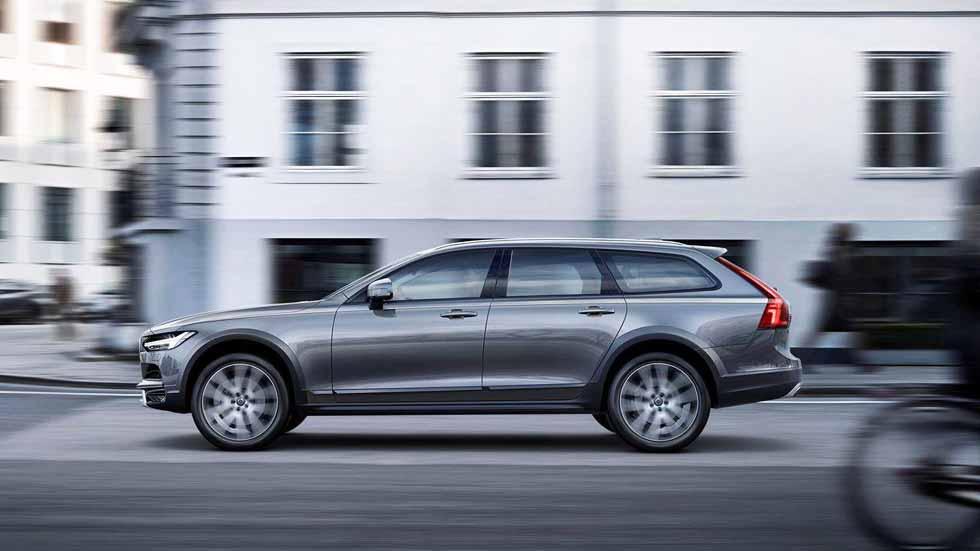 Volvo V90 Cross Country: primeras fotos y datos oficiales