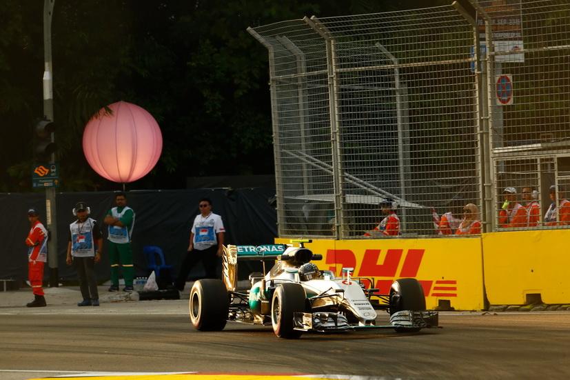 Gran Premio de Singapur: 2ª sesión de entrenamientos libres