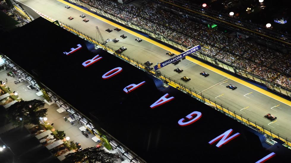 Gran Premio de Singapur: Carrera