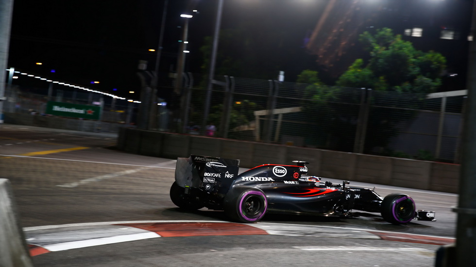 Gran Premio de Singapur: La carrera para Fernando Alonso
