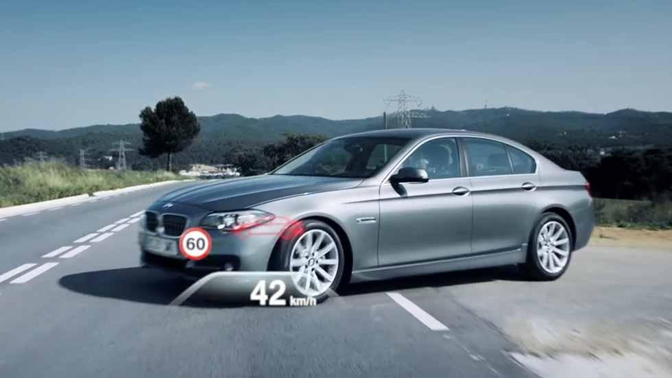 El BMW Serie 5 2017, con funciones de conducción autónoma (vídeo)