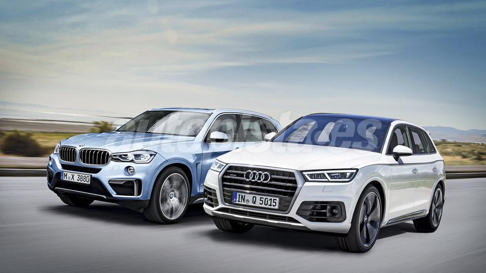 Audi Q5 vs BMW X3: el gran duelo SUV de 2017