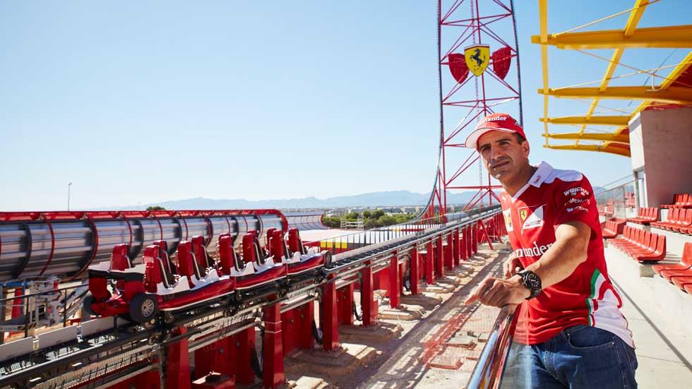 Ferrari Land: lo visitamos y hablamos con Marc Gené (vídeo)