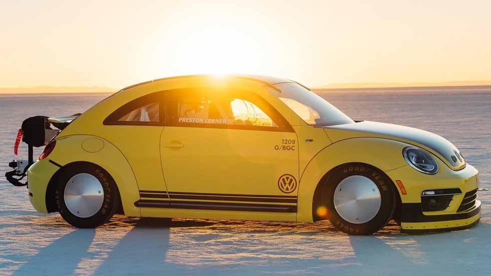 Volkswagen Beetle LSR: ¡un Escarabajo que supera los 330 km/h!