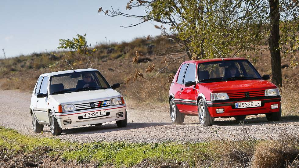 Coches para el recuerdo: Peugeot 205 GTi y Rallye