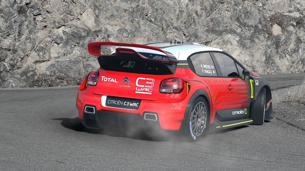 Citroën C3 WRC, listo para el Mundial de Rallyes 2017