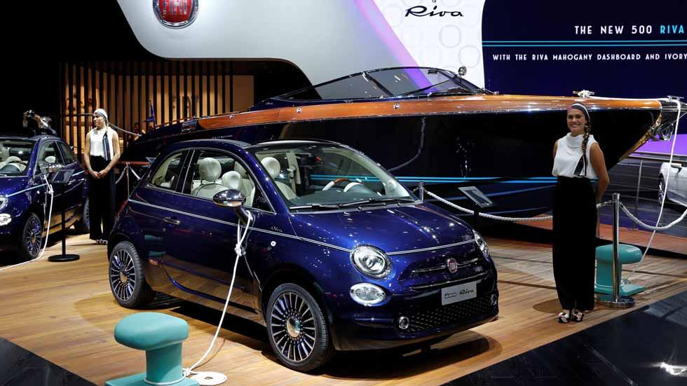 Fiat 500 Riva: puro diseño del mar al asfalto