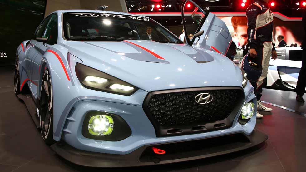 Hyundai RN30 Concept: el Hyundai i30 más potente y deportivo