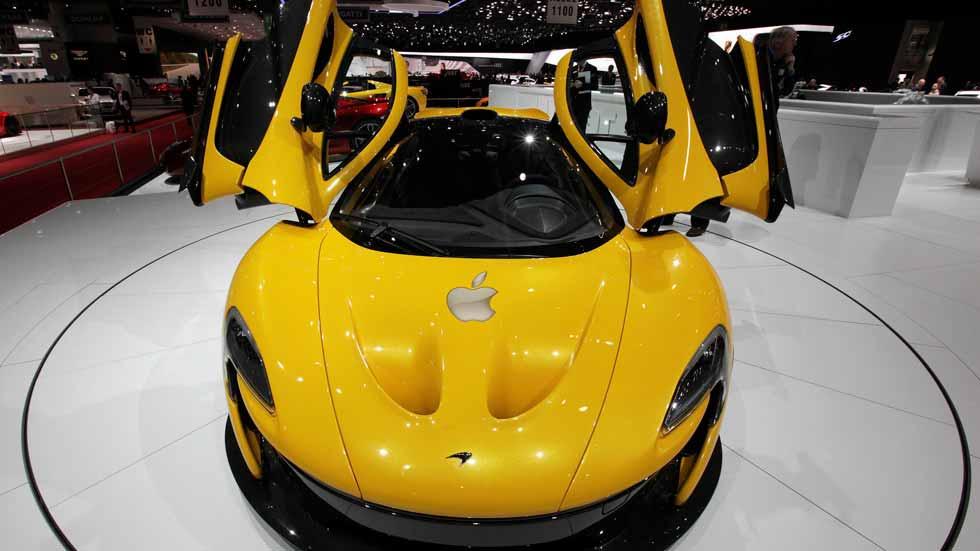 Apple, detrás de la compra de McLaren