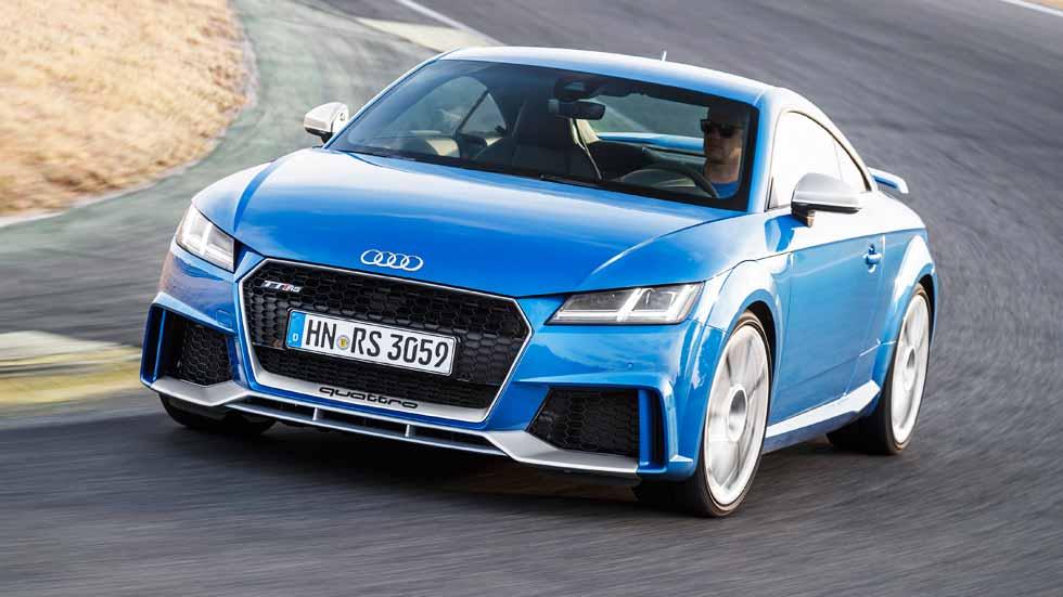 Audi TT RS 2017: a prueba el coupé más rápido del mundo