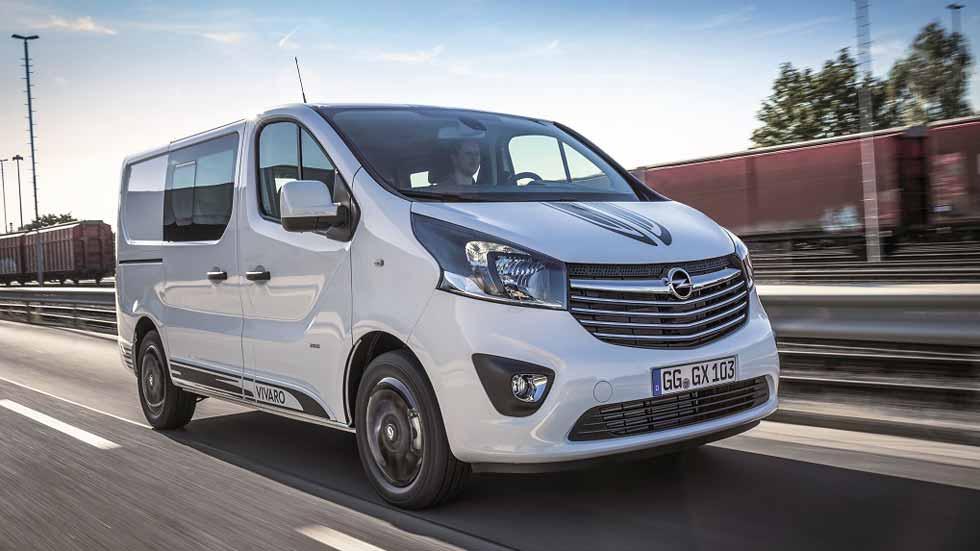 Opel Vivaro Sport, una furgoneta con alma deportiva