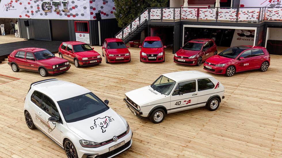 VW Golf GTI Day: la gran fiesta del 40 Aniversario del Golf GTI