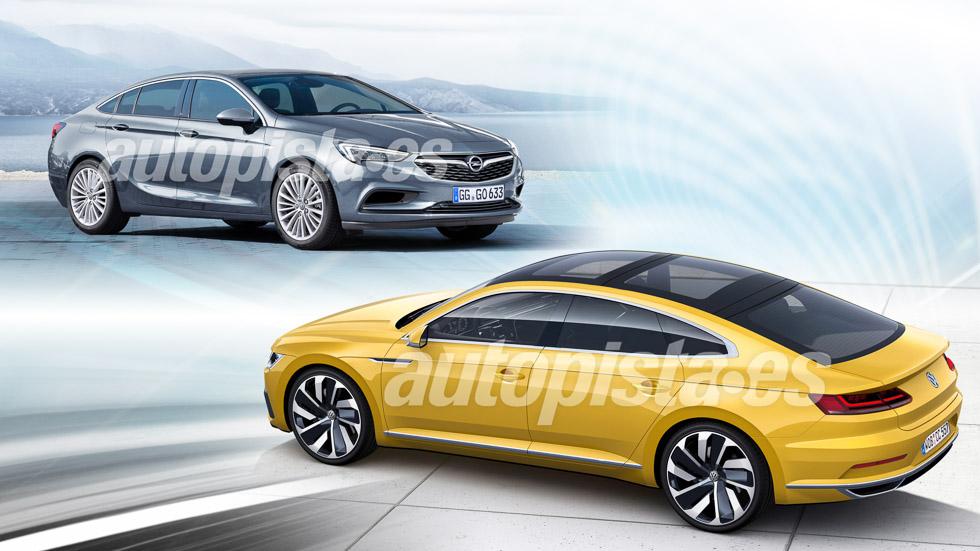 Opel Insignia vs Volkswagen CC: las nuevas grandes berlinas