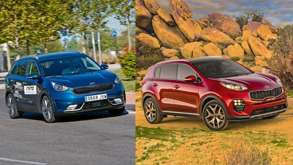 Kia Niro o Kia Sportage: SUV híbrido o Diesel, ¿qué es mejor?