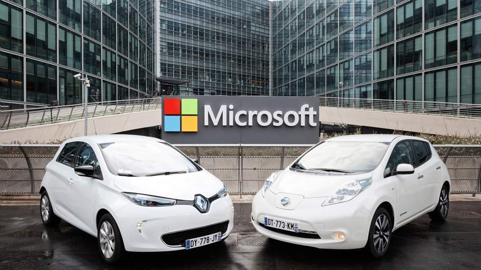 Renault-Nissan y Microsoft, juntas para el coche autónomo y conectado