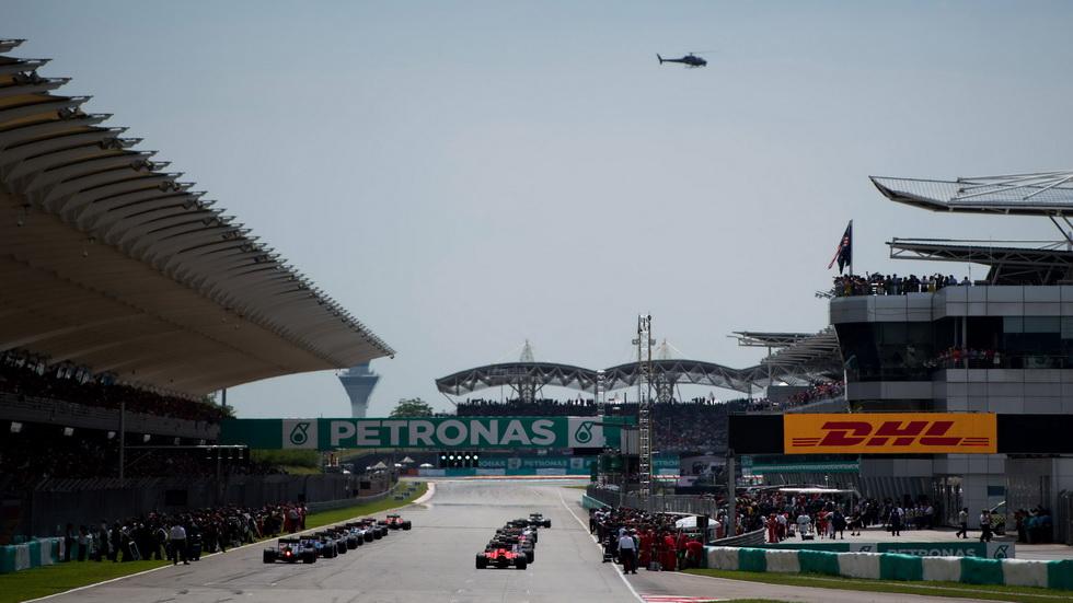Gran Premio de Malasia de F1: horarios de los entrenamientos y de la carrera