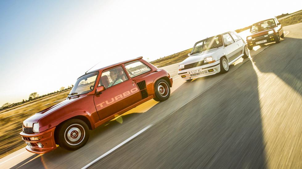 Coches deportivos de leyenda: Renault 5 Turbo, Copa Turbo y GT Turbo
