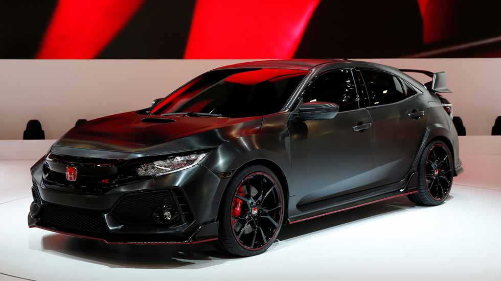 honda civic type r 2017 prototipo a n m s radical. Black Bedroom Furniture Sets. Home Design Ideas