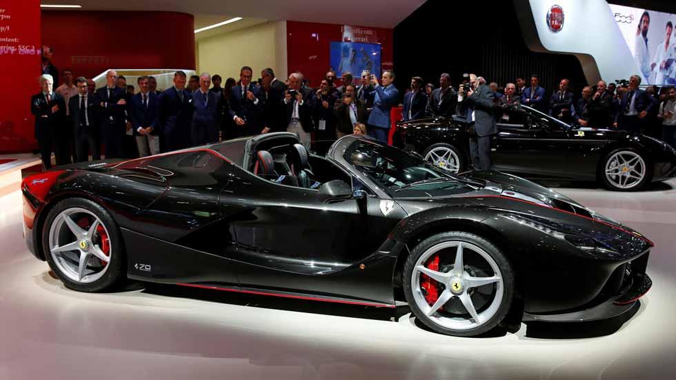 Ferrari LaFerrari Aperta, si Dios fuese coche...