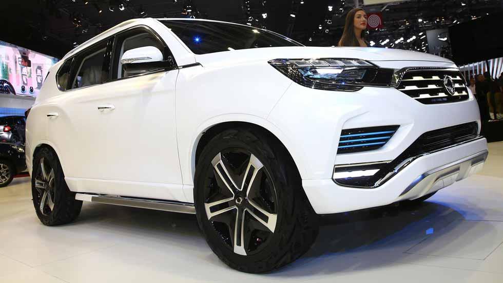 Ssangyong LIV-2 Concept, futuro SUV premium