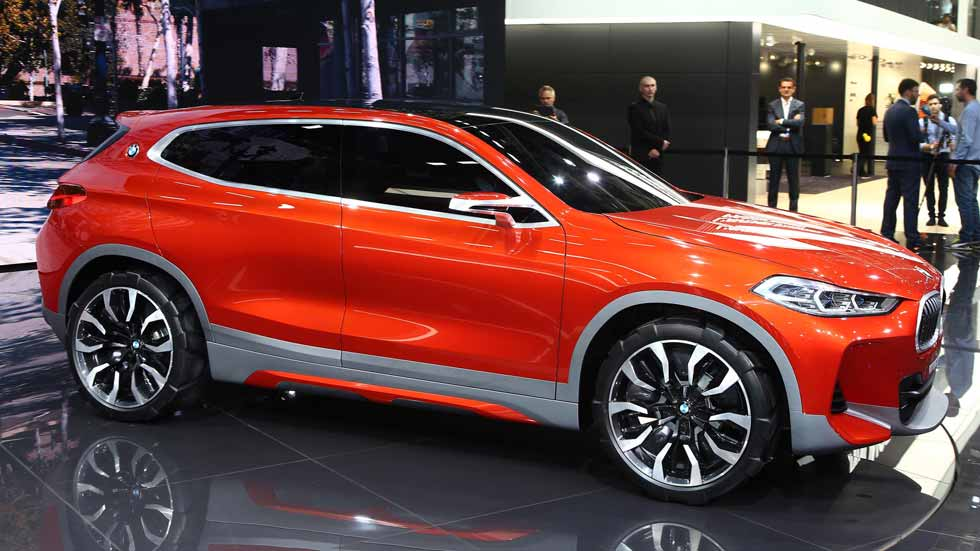 BMW Concept X2, fusión de conceptos: SUV y coupé