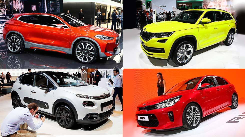Salón de París 2016: los mejores coches que podrás comprar