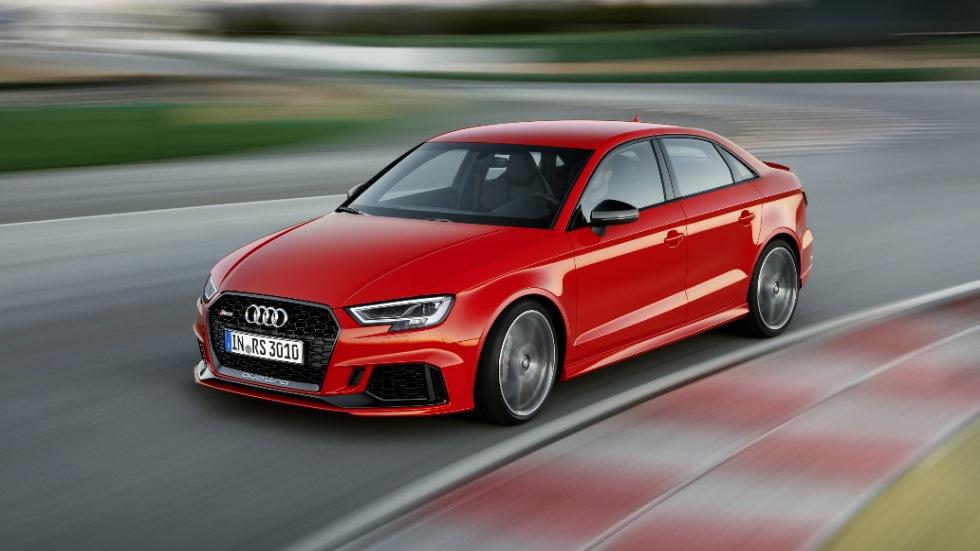 Audi RS 3 Sedán 2017: 4 puertas y 400 CV de potencia
