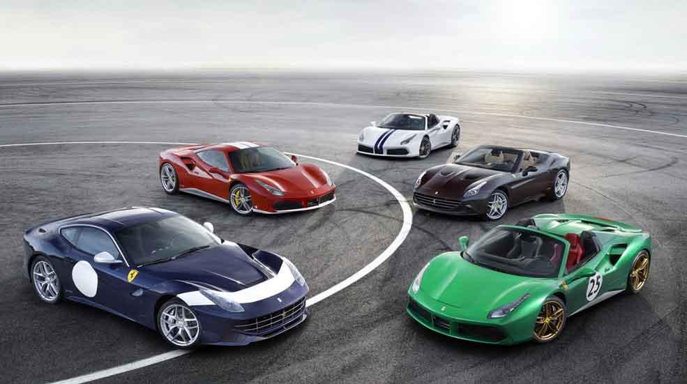 Ferrari crea 70 versiones especiales por su 70 aniversario