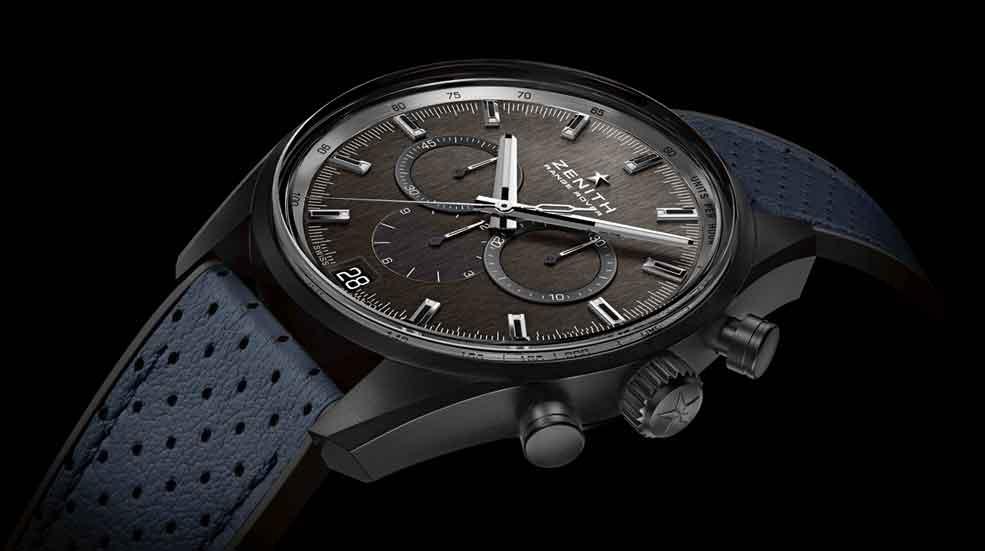 Land Rover y Zenith desarrollan un reloj inspirado en los Range Rover