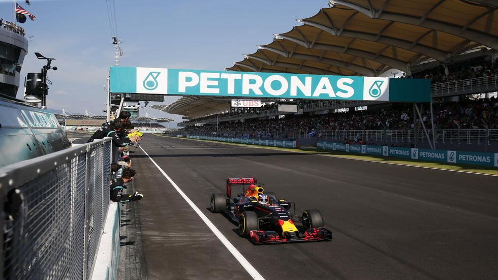 Gran Premio de Malasia: Carrera