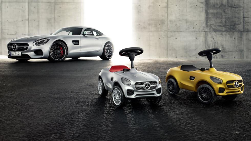 Así es el Mercedes-AMG GT para los conductores más jóvenes...
