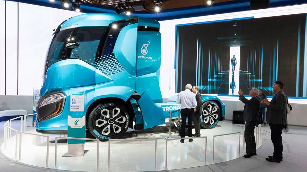 Iveco Z-Truck, así es el camión del futuro