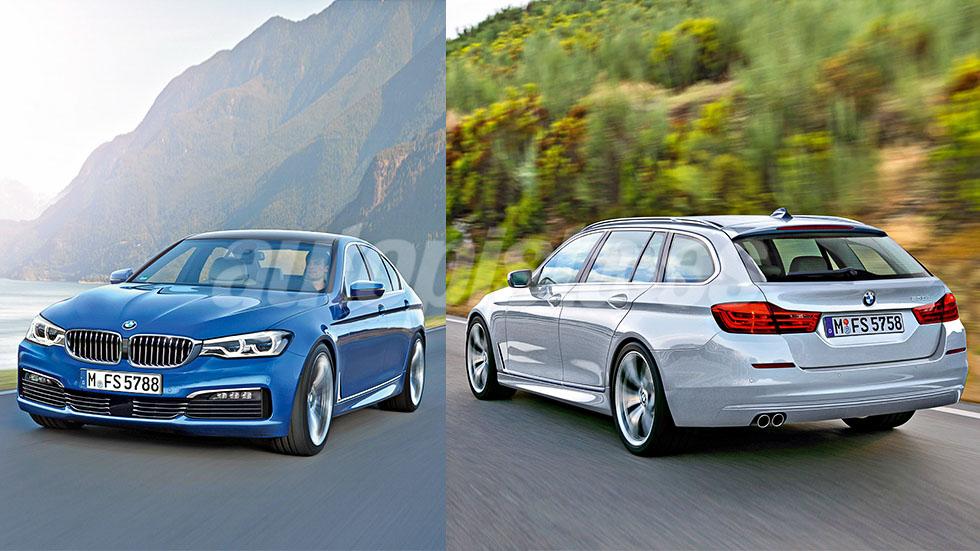 Así será el BMW Serie 5 de 2017: un BMW con estrella