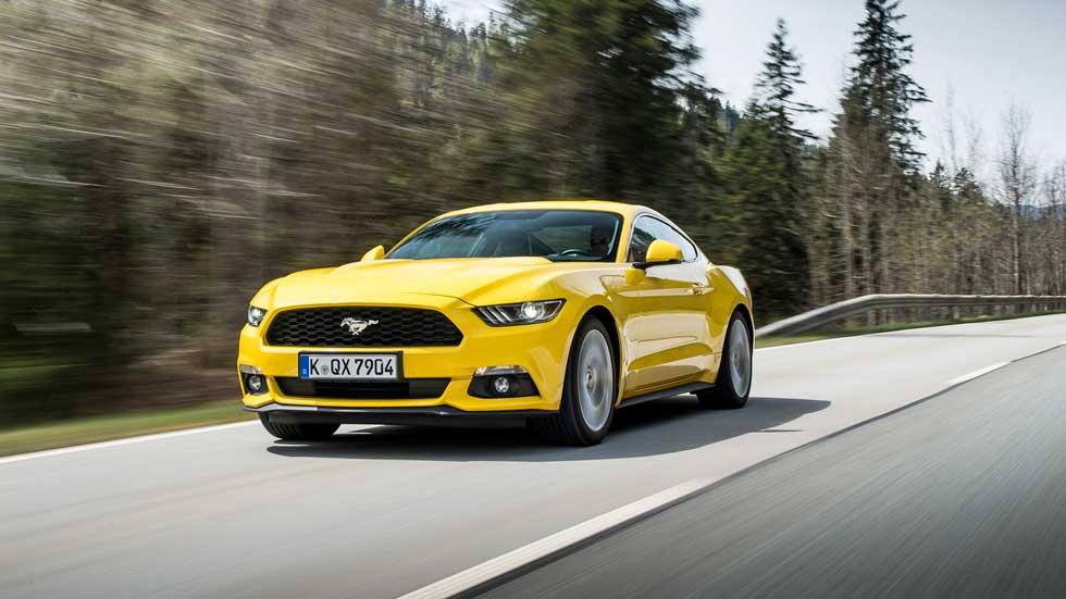 Ford Mustang 2018, con cambio automático de 10 velocidades