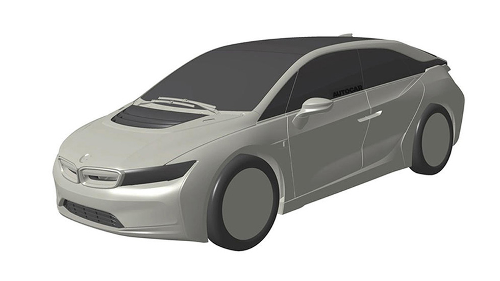BMW i5: se filtran dibujos de la patente