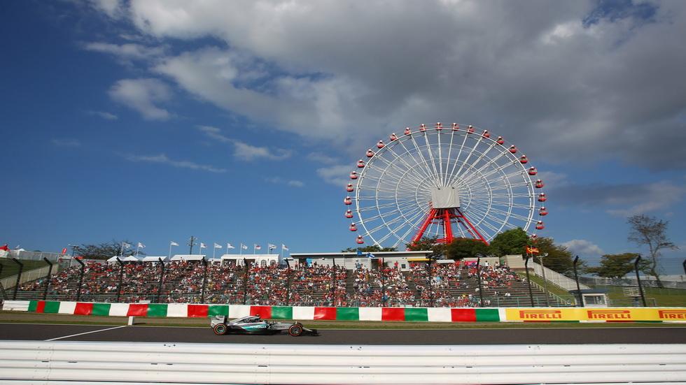 El Gran Premio de Japón de Fórmula 1, en números