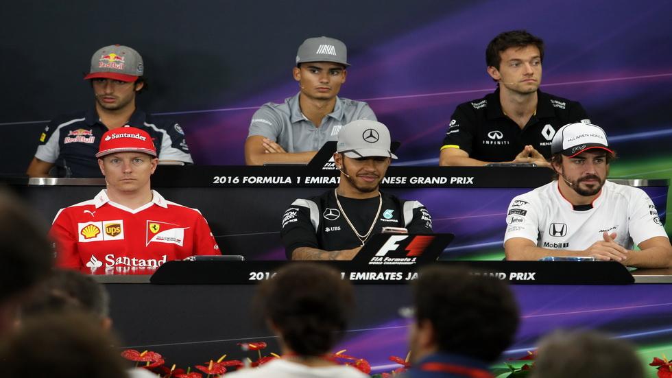 Gran Premio de Japón: Carlos Sainz estuvo en la rueda de prensa de la FIA