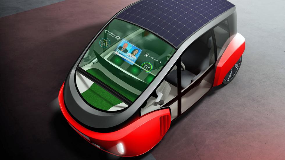 Rinspeed Oasis: el coche eléctrico y autónomo más original