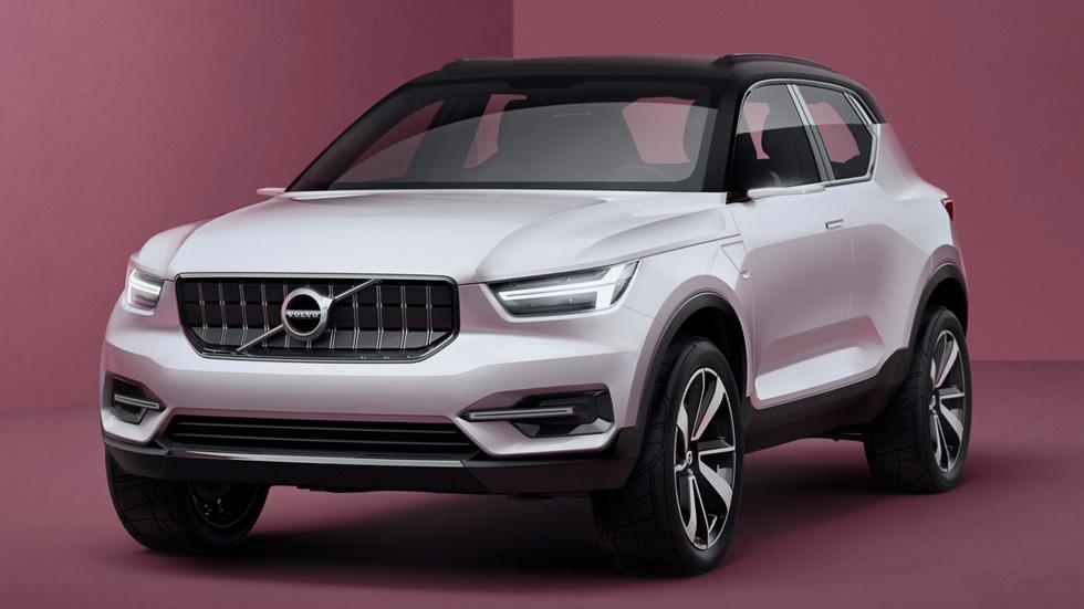 Volvo XC40, un nuevo SUV a la venta en 2018